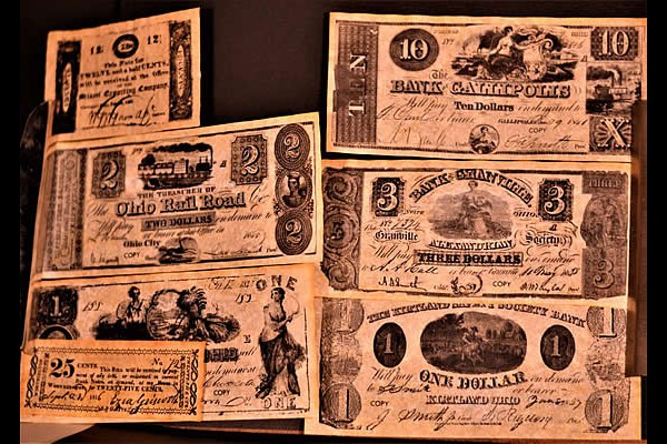 Reproduction Ohio Currency